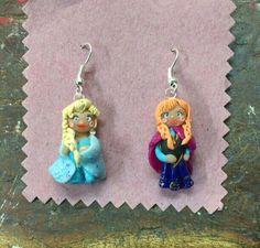 Anna e Elsa Frozen in Fimo