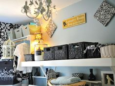 Every Laundry Room Needs a Chandelier - 10 Chic Laundry Room Decorating Ideas on HGTV