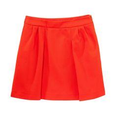 Jupe trapèze orange - Petit Bateau   Brandalley Skater Skirt, Shopping, Orange, Skirts, Fashion, Womens Fashion, Moda, Fashion Styles, Skater Skirts