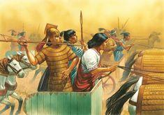 """""""Hittite army at Kadesh"""""""