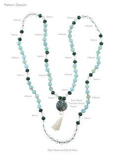 Serenity- Mala Necklace – Beadshop.com