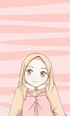 New wall paper cartoon anime wallpapers ideas Fan Art Anime, Anime Art Girl, Cute Love Cartoons, Cute Cartoon, Hijab Drawing, Islamic Cartoon, Hijab Cartoon, Art Antique, Cartoon Background