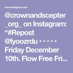 "@crownandscepter_org_ on Instagram: ""#Repost @fyoozrdu • • • • • Friday December 10th. Flow Free Friday's @fyoozrdu - open mic & Jam session - game night - and the after party…"" Free Friday, Instagram Repost, Game Night, Flow, December, Events, Party, Fiesta Party, Parties"