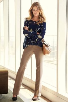 Wearable work outfits for fall 2014 women's classic work outfits for f Classic Work Outfits, Cool Outfits, Winter Outfits, Fashionable Outfits, Business Casual Outfits, Office Outfits, Business Suits, Womens Fashion For Work, Work Fashion