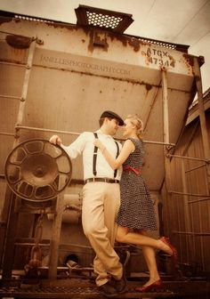 Results from our vintage travel themed 1 year anniversary photo shoot :)