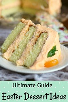 This homemade orange cake is three layers high and made with fresh oranges. A whipped orange buttercream finishes it perfectly! Easter Recipes, Dessert Recipes, Easter Food, Dessert Ideas, Frosting Recipes, Easter Ideas, Desserts For Easter, Easter Dinner, Vegan Desserts