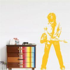 wall decals for teens | teen rocker wall decals stickers : high style wall decals, wall decals ...