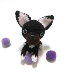 Excited to share the latest addition to my #etsy shop: Amigurumi Puppy Plush Crochet Puppy Amigurumi Chihuahua Stuffed Animal Stuffed Dog Toy Home Decor Birthday Gift for Her Easter Gift