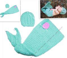 Baby Kids Newborn Beanie Costume Sets Photo Props Crochet Animal Photography  $11.48