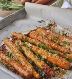 Parmesan-Roasted Carrots
