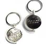 Porte-clés personnalisé - Globes (jeu de 4) – CAD $ 13.42