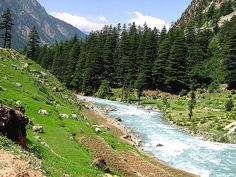 Swat Valley, Pakistan  Locals call it God's little window to Paradise :))