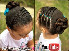 Little Girl Hairstyles Lil Girl Hairstyles, Girls Hairdos, Princess Hairstyles, Girls Braids, Toddler Hairstyles, Hairstyles 2016, Easy Hairstyles, Natural Hair Styles, Short Hair Styles