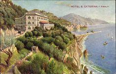 Postkarte Amalfi Campania, Hotel S. Caterina