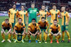 Equipo de Australia en el mundial