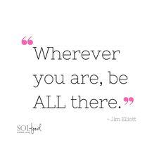 Beautiful #mindfulness #quote #bepresent