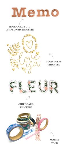 Need an update to your Thickers stash? The Flourish collection by Maggie Holmes has you covered!