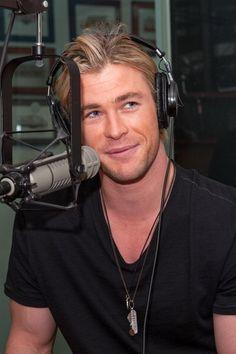 *dreamy sigh* I'd love to hear him sing!
