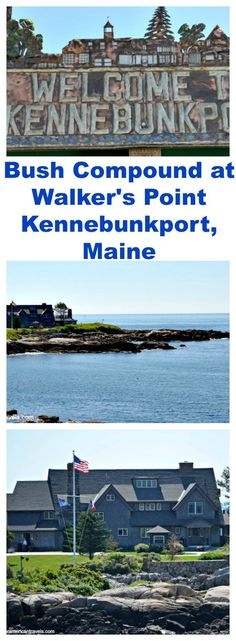 While in #Kennebunkport, we saw the Bush compound at Walker's Point.  The #Bush Compound is the summer home of 41st President of the United States #George H. W. Bush. #Maine #summer #travel #vacation #family #house http://ouramericantravels.com/bush-compound-at-walkers-point/?utm_content=buffer9d16b&utm_medium=social&utm_source=pinterest.com&utm_campaign=buffer#_a5y_p=4000571