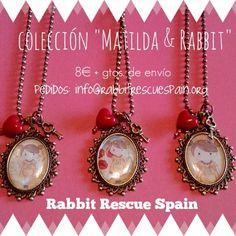 """!nueva colección! """"Matilda & Rabbit"""" solo 8€ + gtos.de envio. Pedidos: info@rabbitrescuespain.org Tambien disponibles en @VeggieRoom (c/San Vicente Ferrer, 21 - Madrid)"""