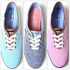 I haven't been a fan of Keds since middle school, but these are too darn cute!