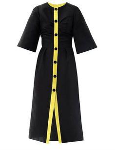 Roksanda Ilincic Vaughn button down midi dress at ShopStyle