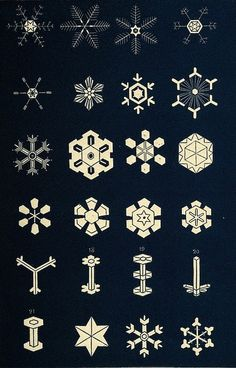 snowflake-3 by Public Domain Review, via Flickr