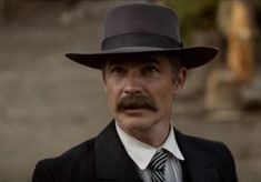 Timothy Olyphant has lots of projects coming out this year. He made a Deadwood movie which people have been waiting on for a long time. Deadwood Series, Joelle Carter, Walton Goggins, Elmore Leonard, Zach Galifianakis, Lance Gross, Morris Chestnut, Michael Ealy, August Alsina