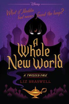 Redesigned Paperback #CoverReveal  A Whole New World (Twisted Tales, #1) by Liz Braswell