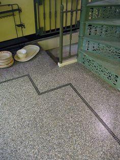 Deze Terrazzo tegels brengen uw interieur terug naar vervlogen tijden. Terrazzo tegels in diverse kleuren zijn te bestellen bij NatuursteenNu