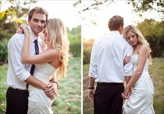 Intimate moment with bride and groom | Photos by Meagan Ramirez--- so adorable