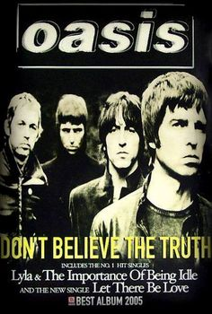 """""""noel gallagher""""-Noel Gallagher's High Flying Beady Eye in the oasis Oasis Brothers, Liam Oasis, Oasis Album, Oasis Music, Let There Be Love, Oasis Band, Rock Band Posters, Noel Gallagher, Tour Posters"""