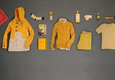 color block anorak and yellow preppy goodness UNIONMADE -