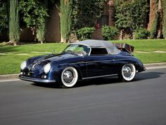 1958 PORSCHE SPEEDSTER VINTAGE with 2,496 miles, $46,750 - Call now: (760) 895-8001