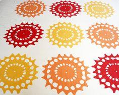 Ann Granlund textiltryck: Olika mönster Screenprinting, Ann, Prints, Pattern, Design, Screen Printing, Printed, Model
