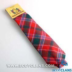 Clan Dalziel Tartan Tie