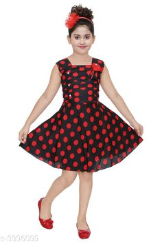 Frocks & Dresses  Doodle Classy Cotton Kid's Girl's Frocks Fabric: Cotton Sleeve Length: Sleeveless Pattern: Printed Multipack: Single Sizes: 4-5 Years  - 24 in 5-6 Years - 26 in 1-2 Years - 18 in 3-4 Years - 22 in 6-7 Years - 28 in 2-3 Years - 20 in Country of Origin: India Sizes Available: 2-3 Years, 3-4 Years, 4-5 Years, 5-6 Years, 6-7 Years, 7-8 Years, 8-9 Years, 1-2 Years   Catalog Rating: ★4 (503)  Catalog Name: Cutiepie Stylish Girls Frocks CatalogID_564766 C62-SC1141 Code: 552-3996099-765