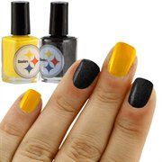 Pittsburgh Steelers Black-Gold 2-Pack Nail Polish