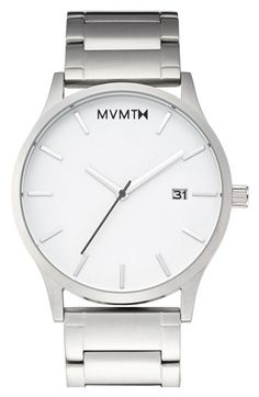Free shipping and returns on MVMT Bracelet Watch, 45mm at Nordstrom.com. It's always time to shine with a radiant bracelet watch designed with a sleek, minimalist three-hand dial.