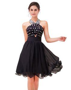 Rochie de ocazie scurta din cristale Aurora Boreala Orice, Corset, Wordpress, Chiffon, Formal Dresses, Black, Fashion, Silk Fabric, Dresses For Formal