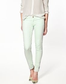 mint green pants for spring!