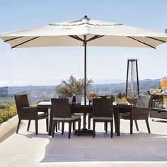 Easy Shade Outdoor Umbrella
