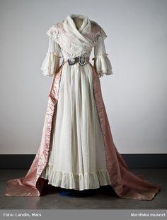 Dress 1780s Nordiska Museet