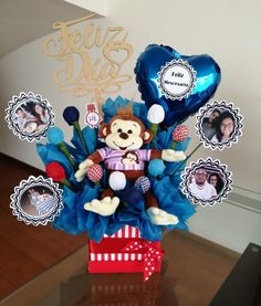 Valentines Gift Box, Bff Birthday Gift, Food Bouquet, Diy Bouquet, Personalised Gifts Diy, Handmade Gifts, Chocolate Bouquet Diy, Food Gift Baskets, Balloon Shop