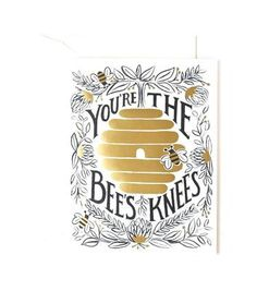 Rifle Paper Bees Knees Note Card Set