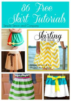 86 Free Skirt Tutorials
