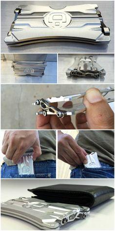 ORION ONE Mechanical Minimalist Wallet (7)