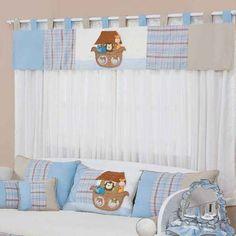 cortina bebe azul - Pesquisa Google