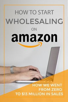 Buy low, sell high, and do it at scale. This guy shows how he built his Amazon FBA business by building win-win wholesale relationships with suppliers. How to start wholesaling on Amazon, aka how to sell on Amazon via @sidehustlenation Make Money On Amazon, Sell On Amazon, Way To Make Money, Make Money Online, Amazon Jobs, Amazon Hacks, Amazon Online, Amazon Sale, Amazon Price