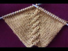 Augmentation de la tarière à bras Robada Reglan - Videolarımız - Baby Knitting Patterns, Types Of Knitting Stitches, Knitting Stiches, Knitting Videos, Easy Knitting, Knitting For Kids, Knitting Designs, Stitch Patterns, Crochet Patterns